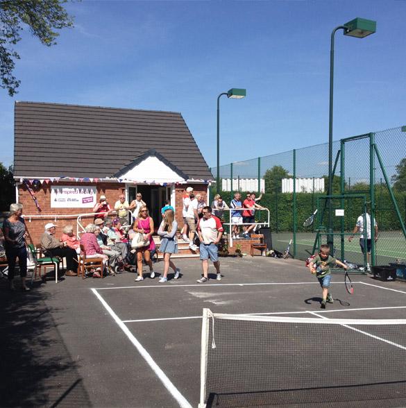 Tennis courts - Alsager Tennis Club