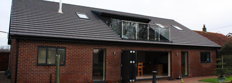 External view - loft conversion Mr & Mrs G Collier
