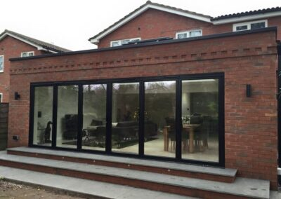 Garden room extension Macclesfield