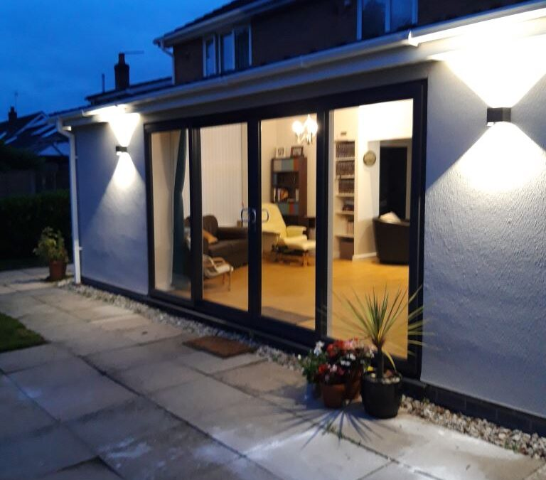 Mr and Mrs Swindell – Single Storey Rear Open Plan Kitchen Dining Living Extension