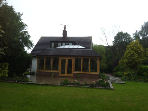 Mr & Mrs J. Bache – Orangery Extension Hatherton Nantwich